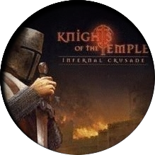 логотип игры Knights of the Temple Infernal Crusade