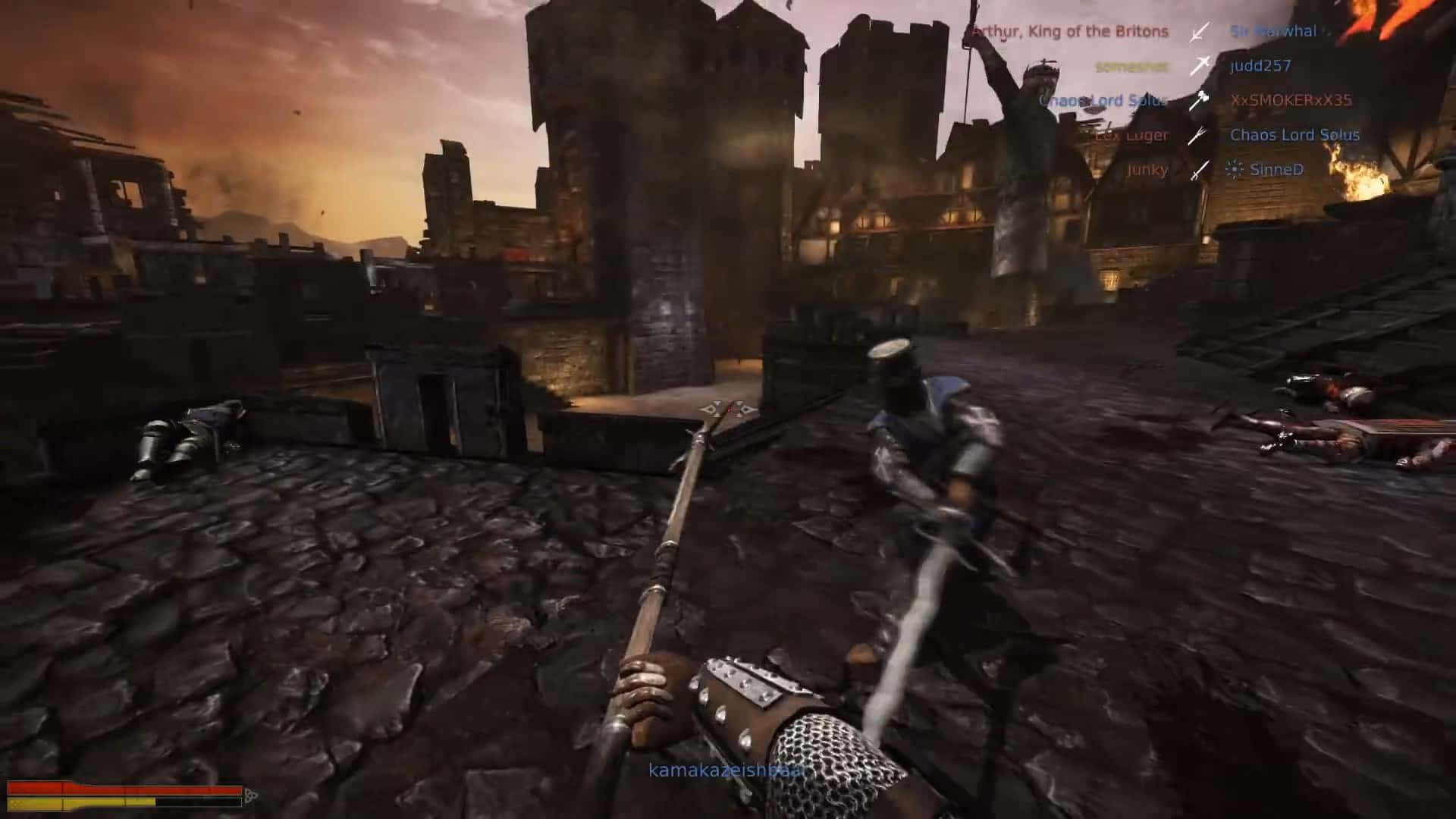 геймплей игры Chivalry Medieval Warfare