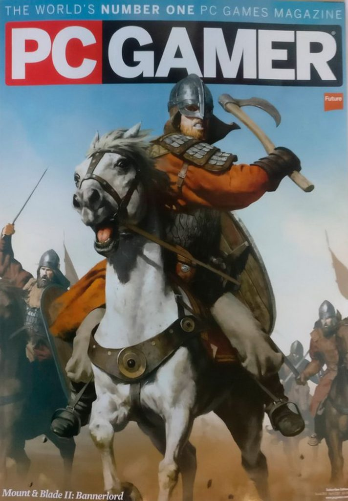 информация о Mount and Blade 2: Bannerlord от журнала PC Gamer